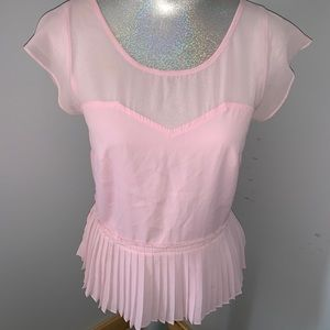 American Eagle Pink Blouse